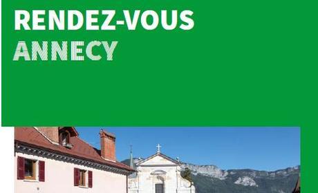 Rendez-vous Annecy - Juin - Octobre 2018