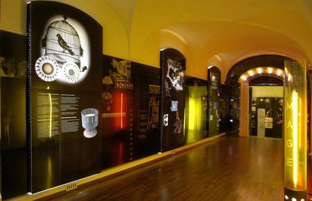 Univers du cinéma d'animation, espace d'exposition, entrée