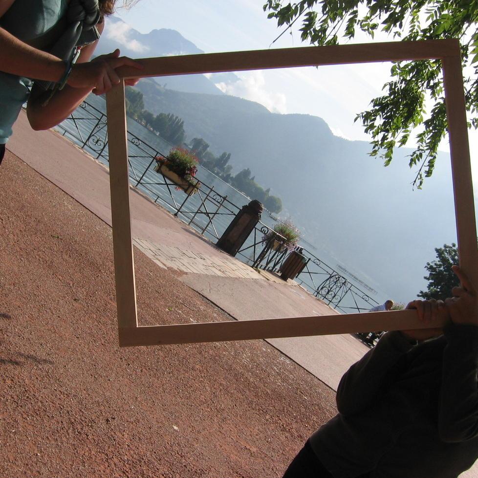 Dedans dehors fen tre ouverte sur le paysage patrimoine for Fenetre ouverte sur paysage