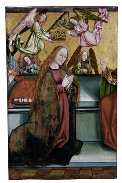 Couronnement de la Vierge, volet  de retable