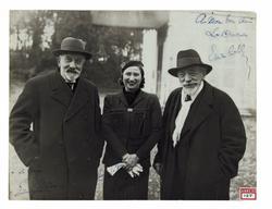 "Georges Méliès, Leontina ""Mimma"" Indelli, Emile Cohl"
