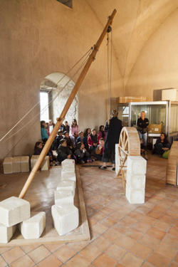 Matériaux de construction du Moyen Age